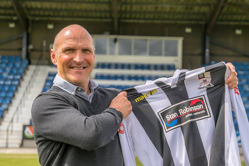 STEVE BURR APPOINTED NEW STAFFORD RANGERS MANAGER