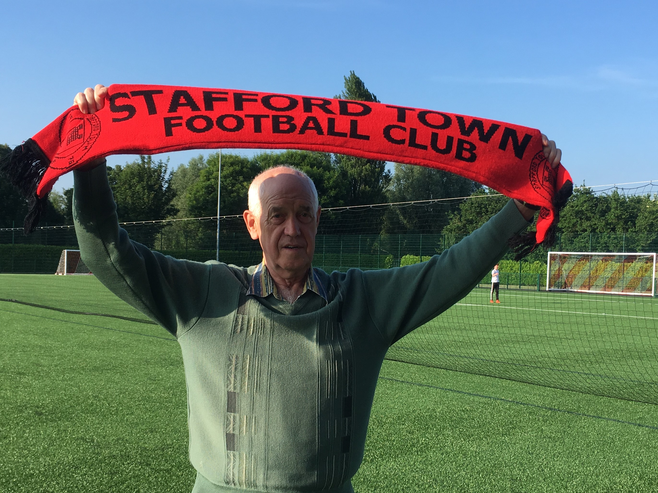 Gordon Evans BEM and his vision for Stafford Town FC