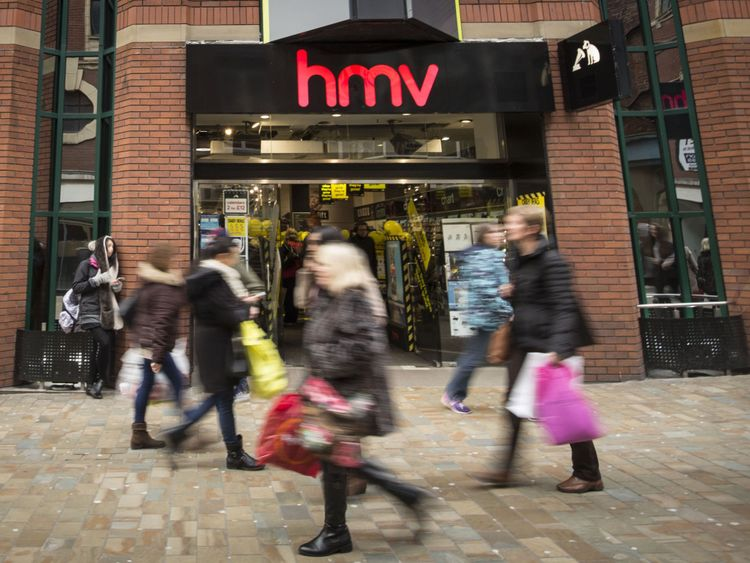 2,200 jobs at risk with HMV on brink of collapse
