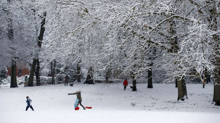 Coldest night of winter expected after snow disruption