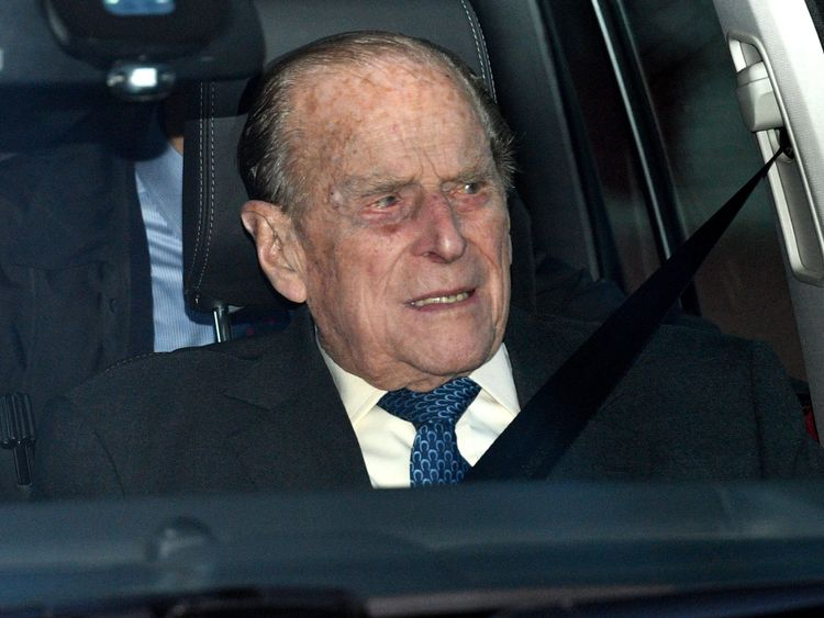 Prince Philip 'exchanges well-wishes' with crash victims