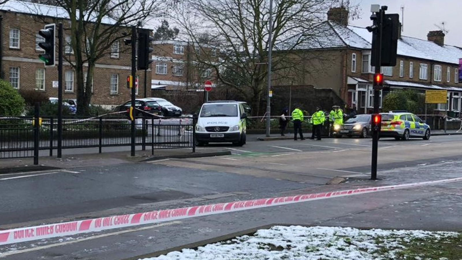 Woman, 21, dies after being hit by police car