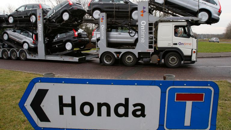 3,500 jobs at risk as Honda plots Swindon closure
