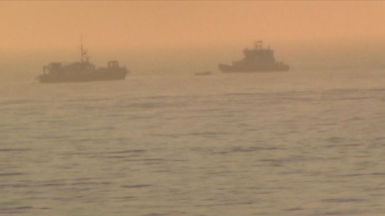 Border Force investigate after empty boat seen off Dover