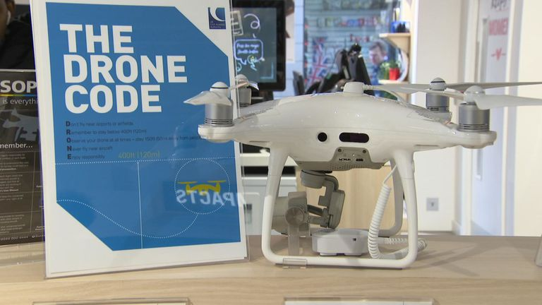 Drone 'no fly zone' around airports to be extended