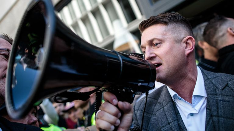 EDL founder Tommy Robinson banned from Facebook
