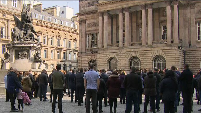 96 bells sound for Hillsborough victims 30 years since tragedy