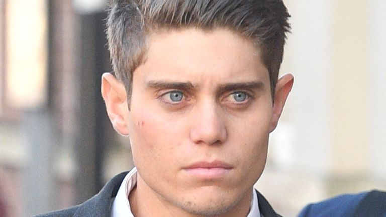 Cricketer sobs in dock as he is found guilty of raping sleeping woman