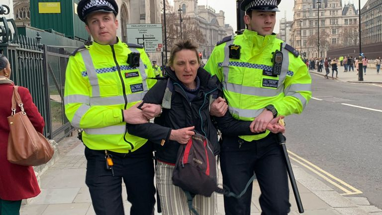 Extinction Rebellion: Protests across London continue for fourth day
