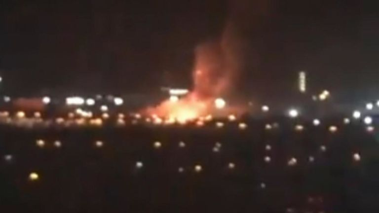 Public told to avoid TATA Steelworks after 'huge explosion' reported
