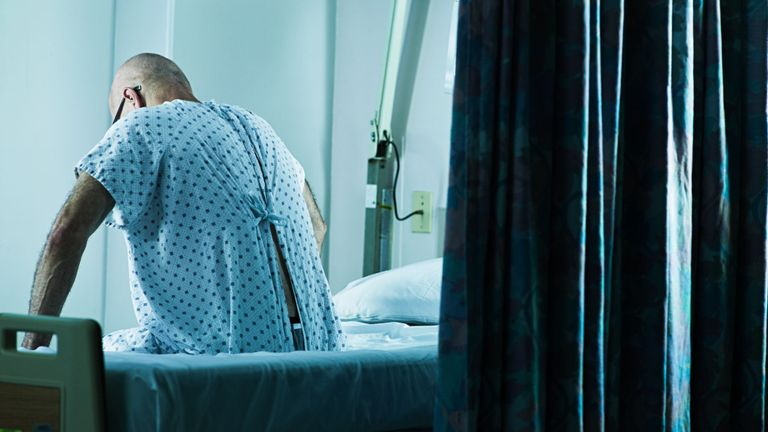 Two in five hospital patients 'never have any visitors'