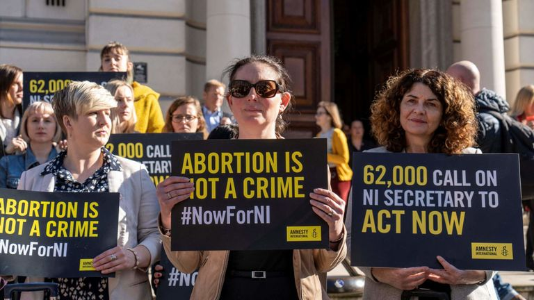 Within hours, same-sex marriage and abortion will be legal in N Ireland