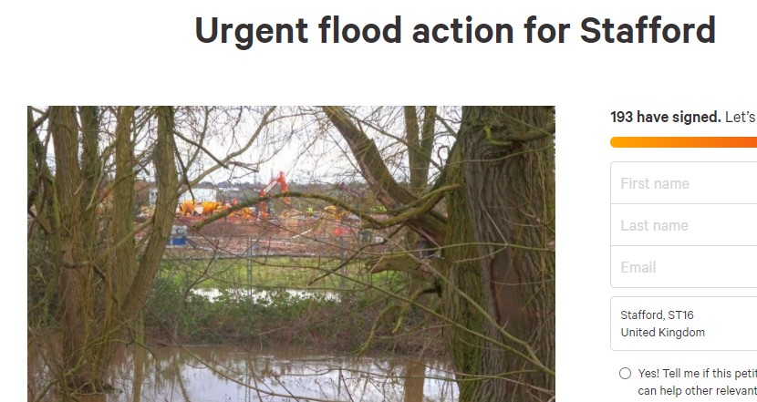 Local Campaign Group Calls for Urgent Flood Action