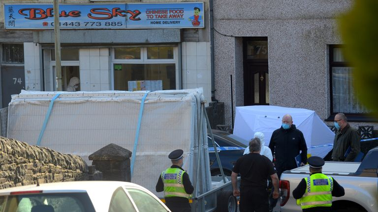 Arrests after 16-year-old girl's unexplained death in South Wales