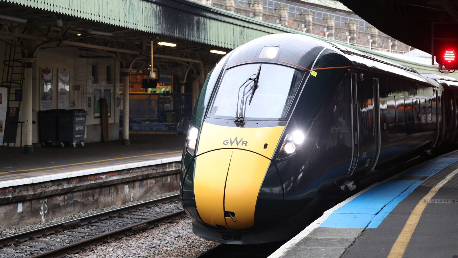 Rail passengers told 'not to travel' on second day of disruption after cracks found on trains