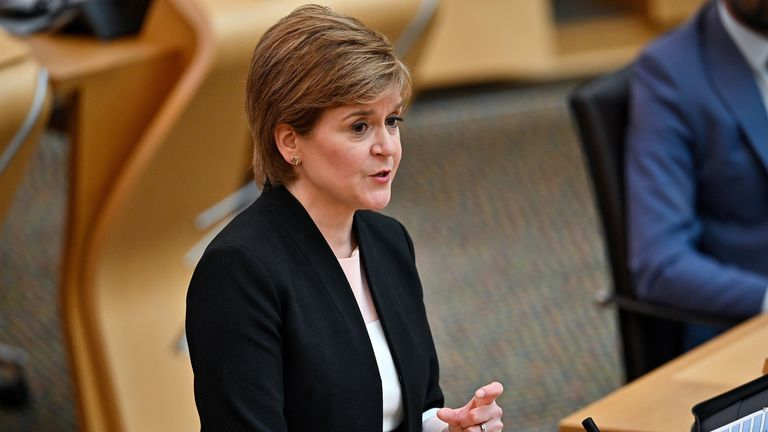 Scotland to ease COVID restrictions – but face masks will remain mandatory