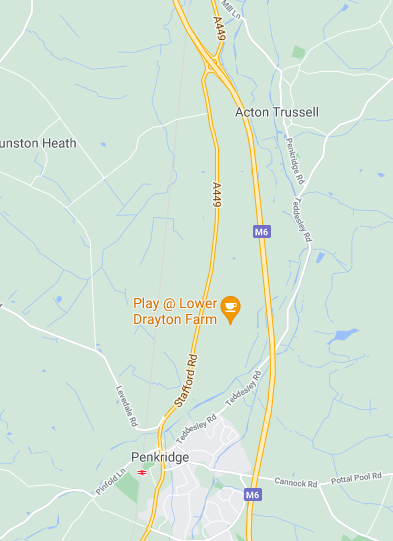 A449 between Stafford and Penkridge Closed for 8 Nights