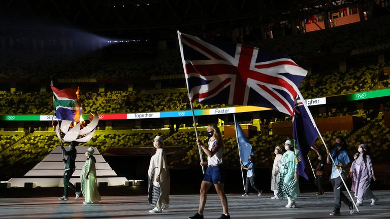 'We are so, so proud': PM's message to Team GB as they equal London 2012 medal tally