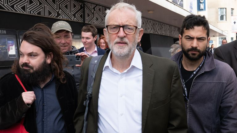 Jeremy Corbyn is 'the past', leading Labour MP says ahead of Keir Starmer's speech