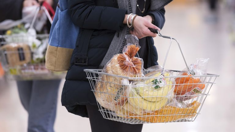 Rise in food and transport costs sends inflation soaring to highest increase on record