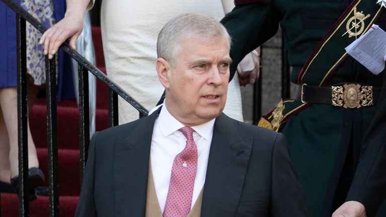 Sexual assault allegations 'baseless', Prince Andrew's lawyer says in hearing